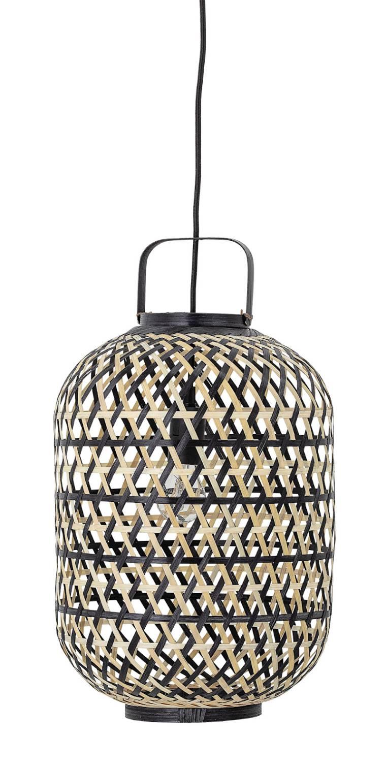 Bloomingville Bambus Pendelleuchte Design Leuchte