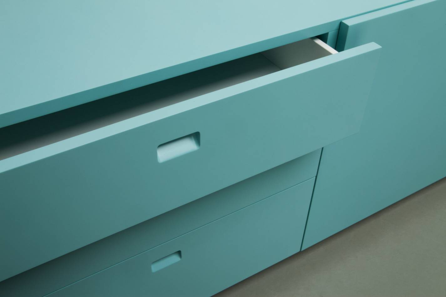 Quodes Satellite Sideboard Design by Edward Barber and Jay Osgerby Detail