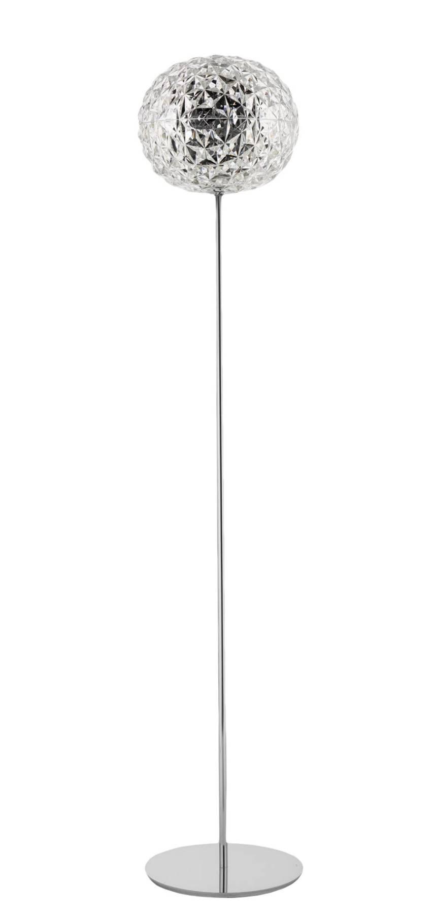 Planet LED Stehleuchte mit Dimmer, H 160 cm