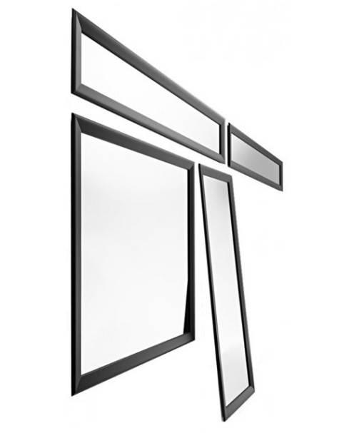 Horm Yume Black Designer Spiegel