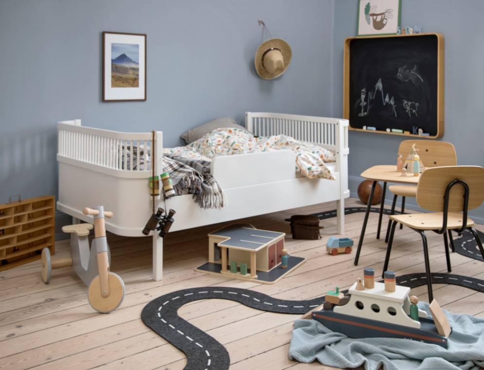 Sebra Das Sebra Bett Baby Junior Weiss 200130025 Kinderzimmer Ambiente