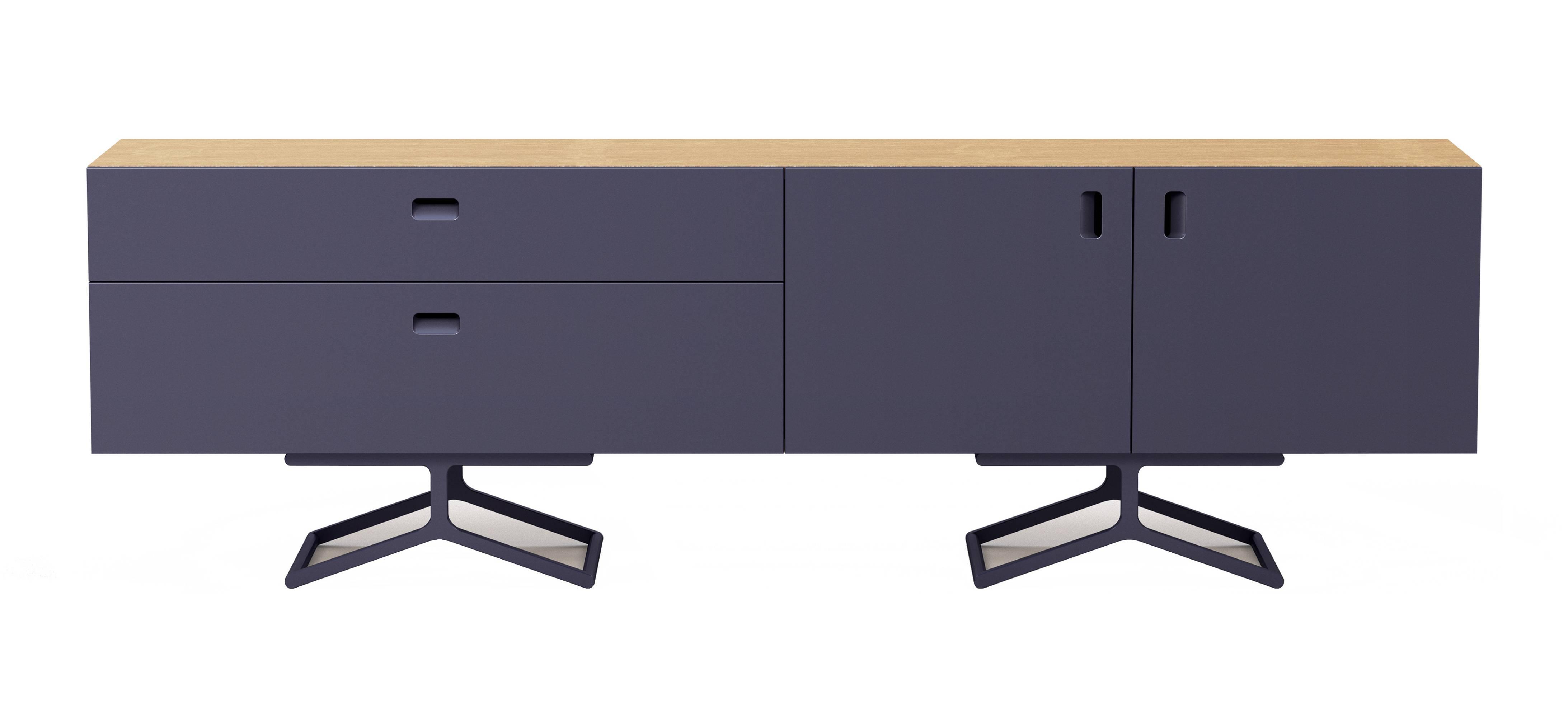 Quodes Satellite Sideboard mit Aluminium Gestell Design by Edward Barber und Jay Osgerby Design Möbel