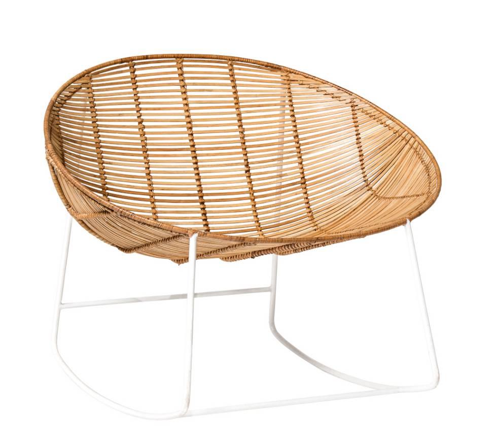 Bloomingville Orinoco Schaukelstuhl Design Möbel