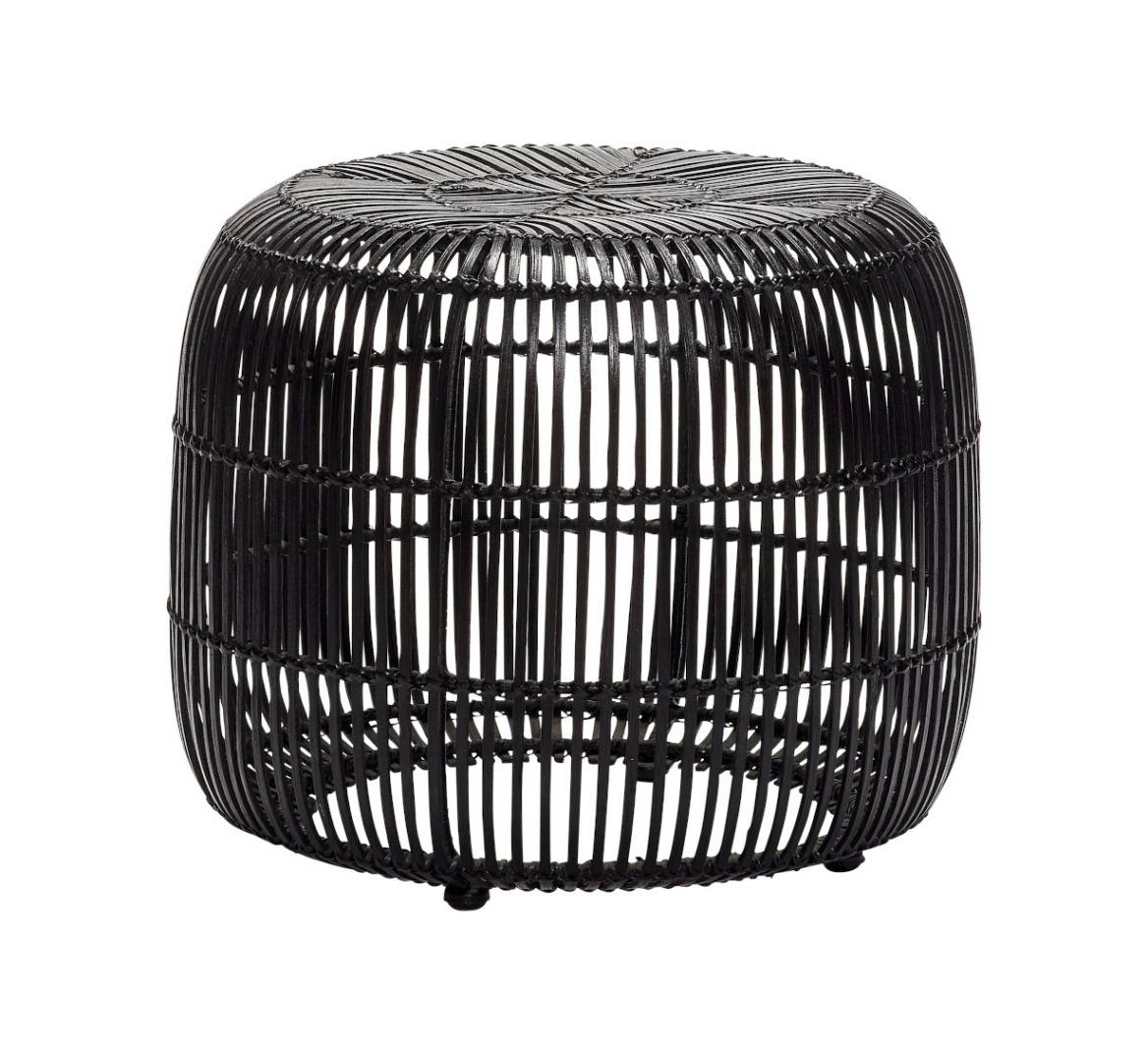 Hübsch Interior Rattan Hocker Design Möbel