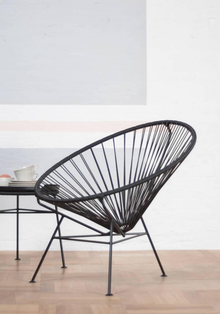 Condesa Chair, schwarz