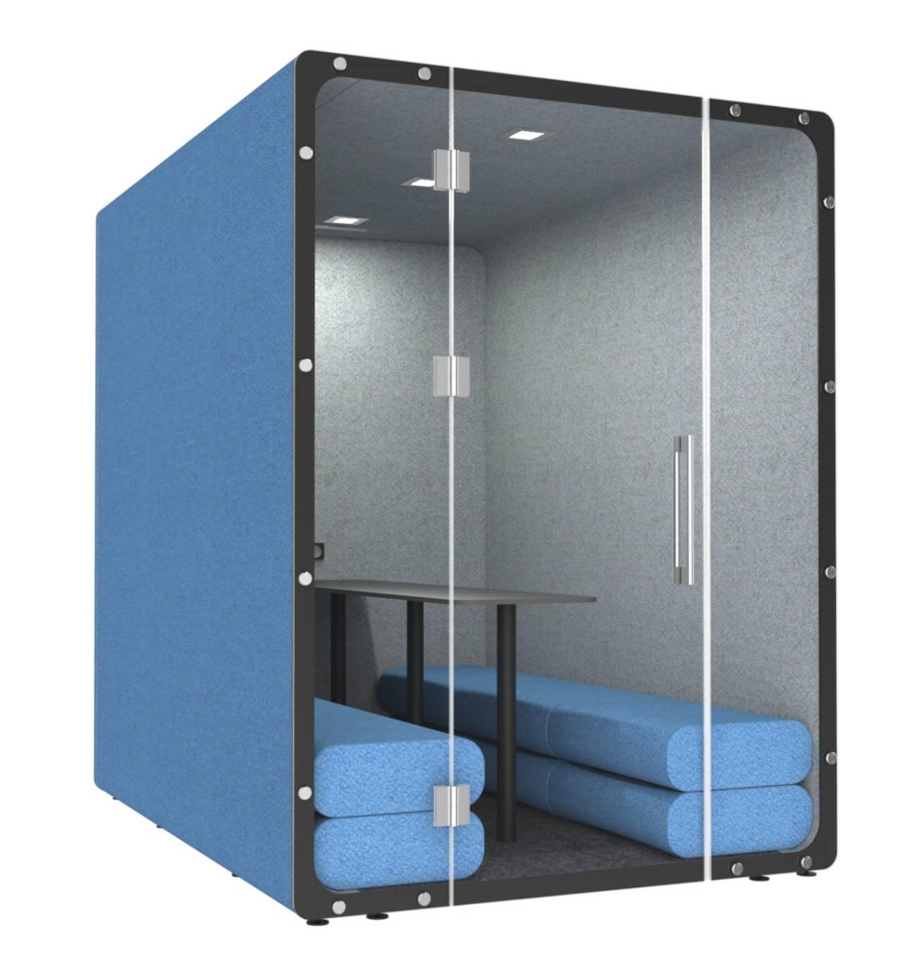 VANK Mello Meetingraum für 6 Personen Büroeinrichtung