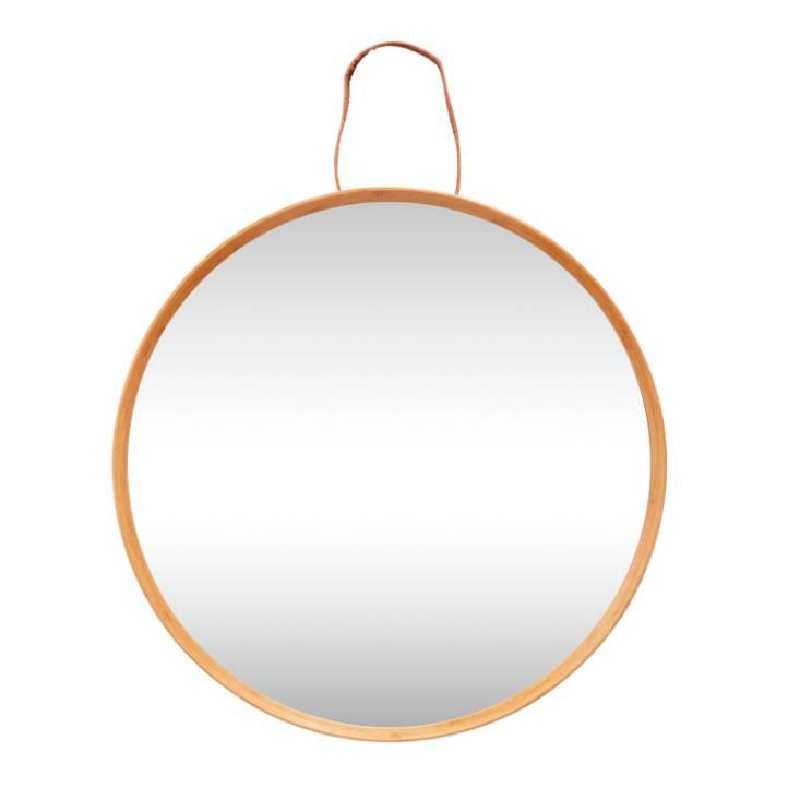 Hübsch Interior Bambus Spiegel Design Möbel