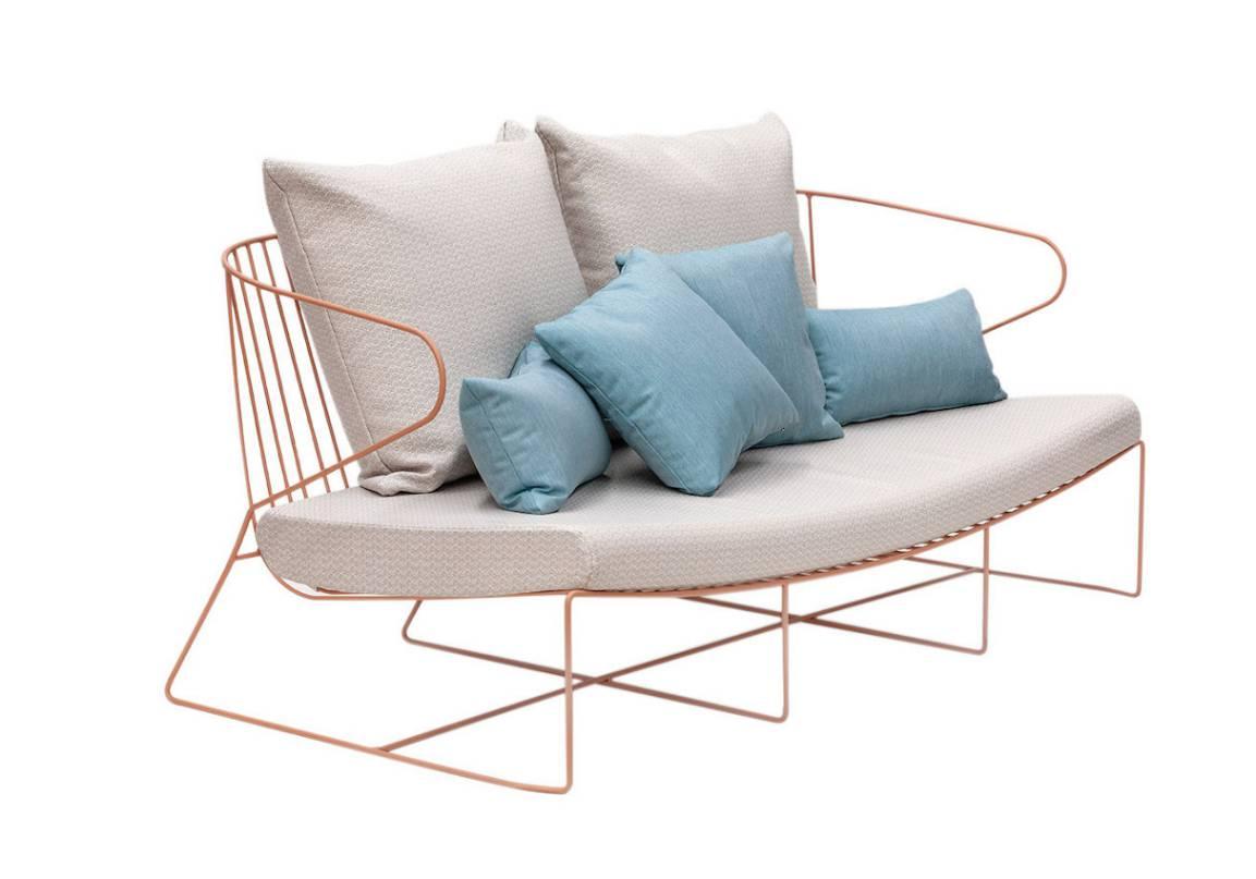 iSimar Bolonia Gartensofa Design Möbel