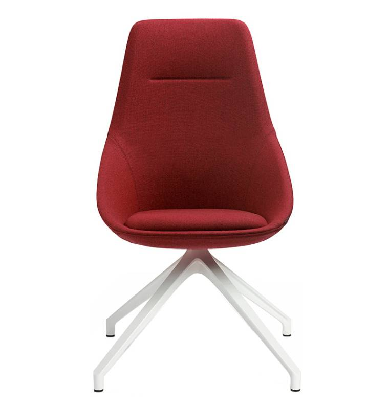 Offecct Ezy High Stuhl in Rot