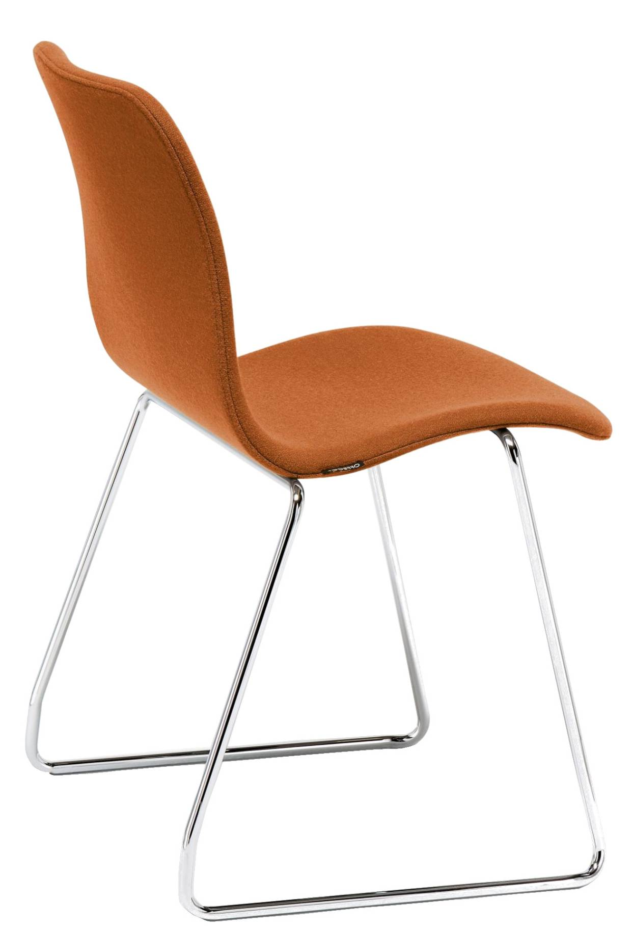 Offecct Cornflake Stuhl mit Stoffbezug