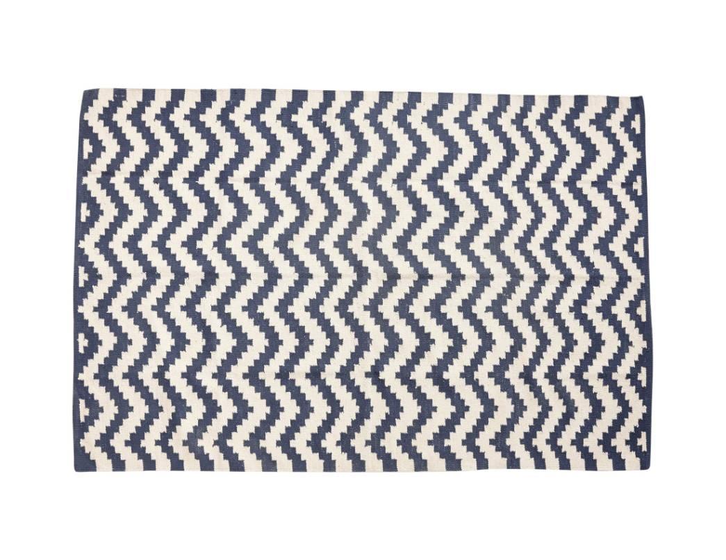 Hübsch Interior Baumwollteppich Design Wohnaccessoires