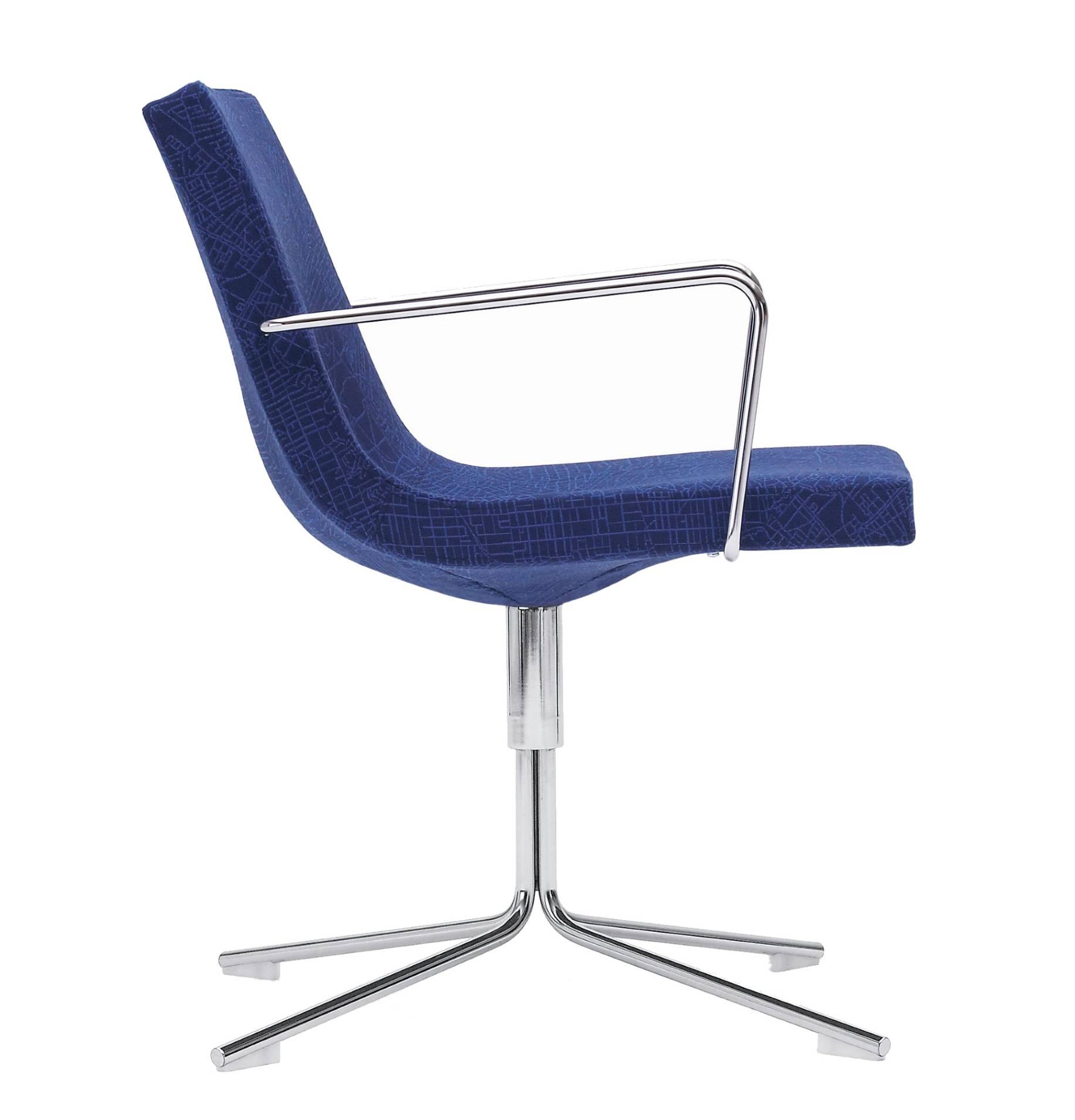 Offecct Bond Armlehnstuhl in der Farbe Blau