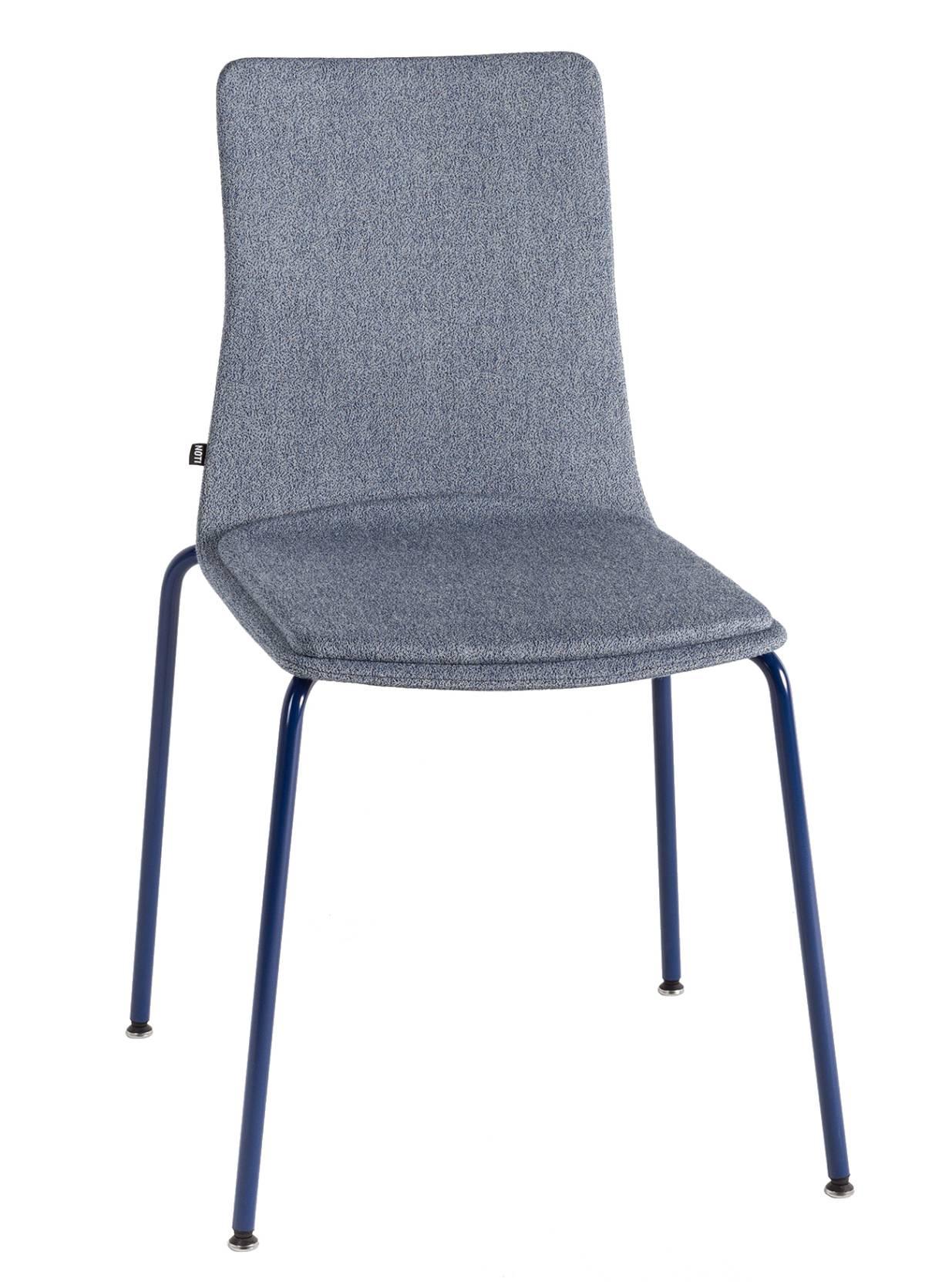 Linar Plus Vollpolster Stuhl mit Vierfußgestell