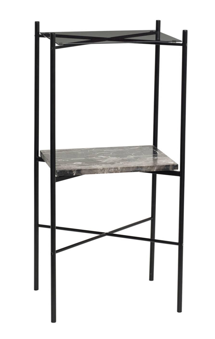 Hübsch Interior Metall/ Marmor Konsolentisch Design Möbel
